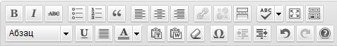 Визуальный редактор записей в WordPress